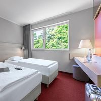 [Translate to en:] Serways Hotel Bruchsal West Einzelzimmer